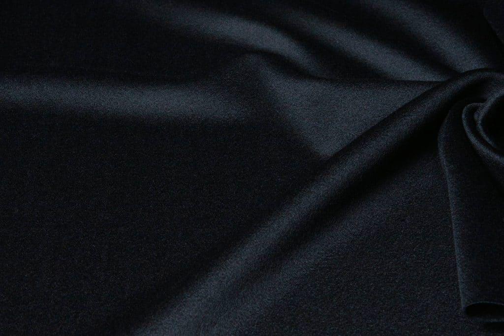 Loro Piana fabric in black color