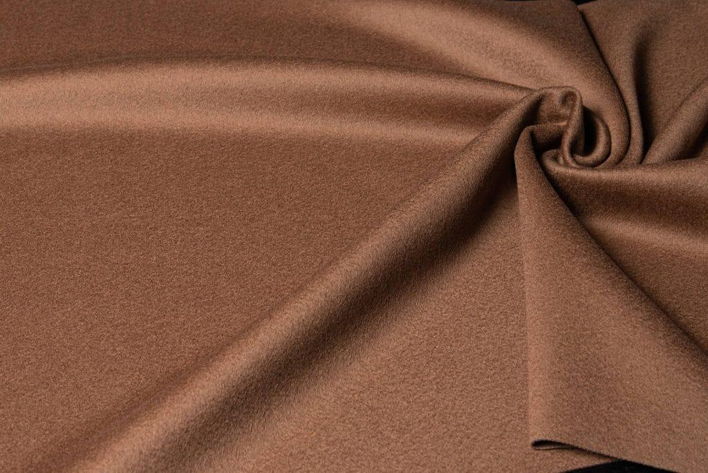Loro Piana fabric in camel color