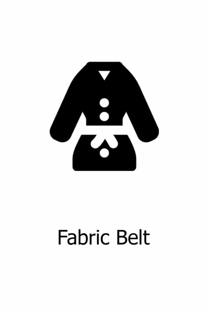 Fabric Belt Option