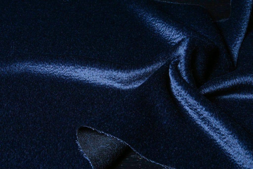 Zibilene Alpaca Fabric Navy Color