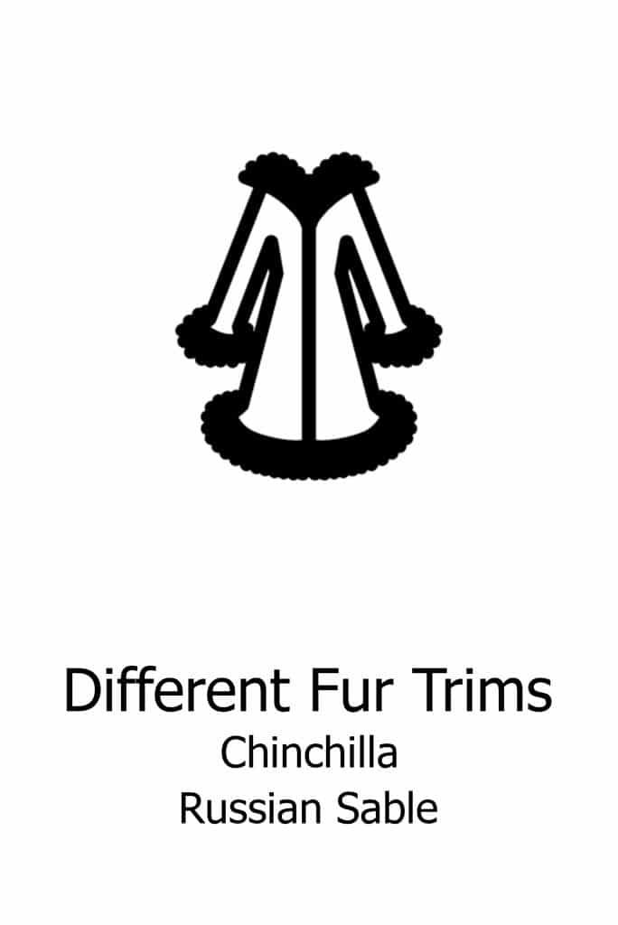 Different fur trim options