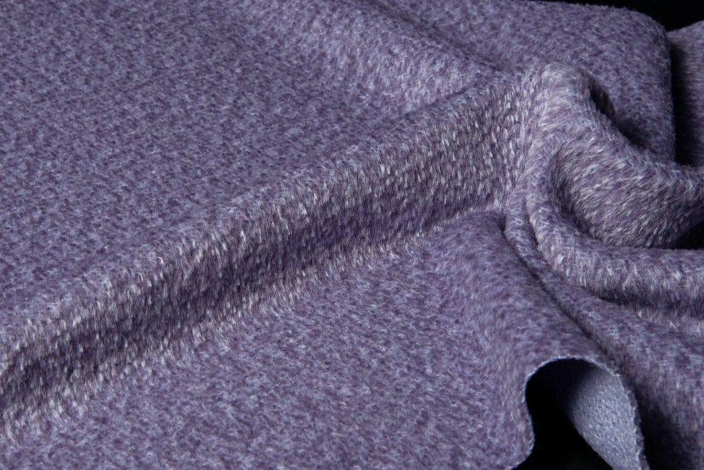 Alpaca Fabric Violet Color