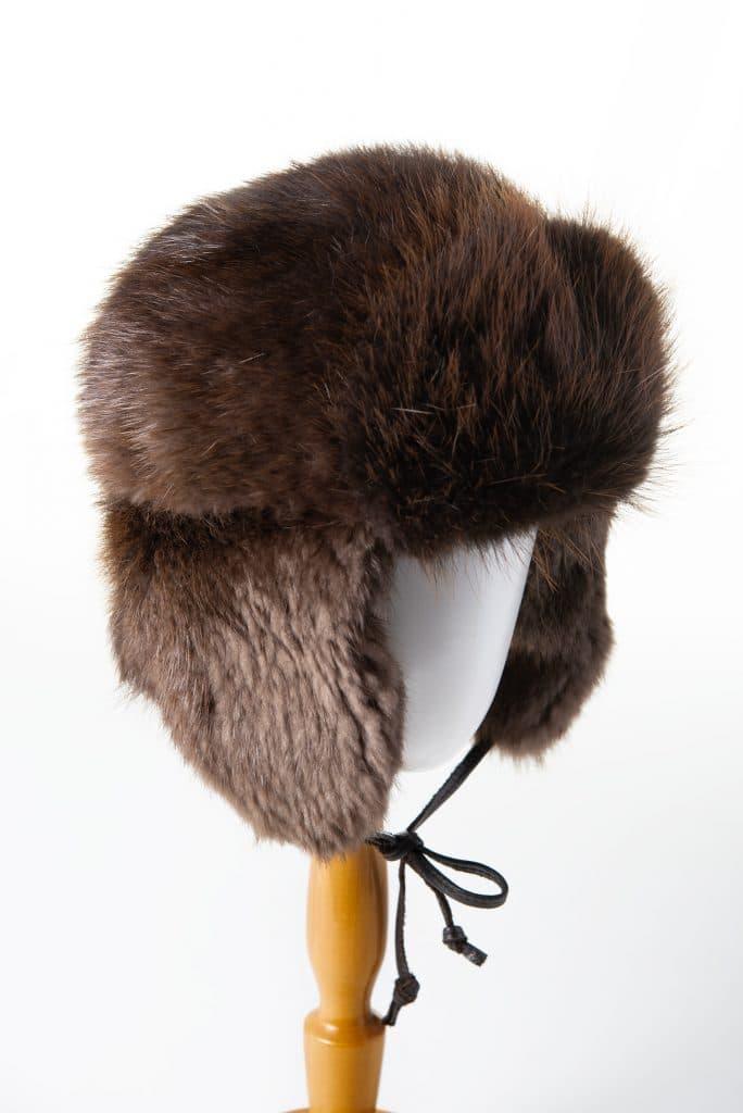 Aviator Beaver Fur Hat