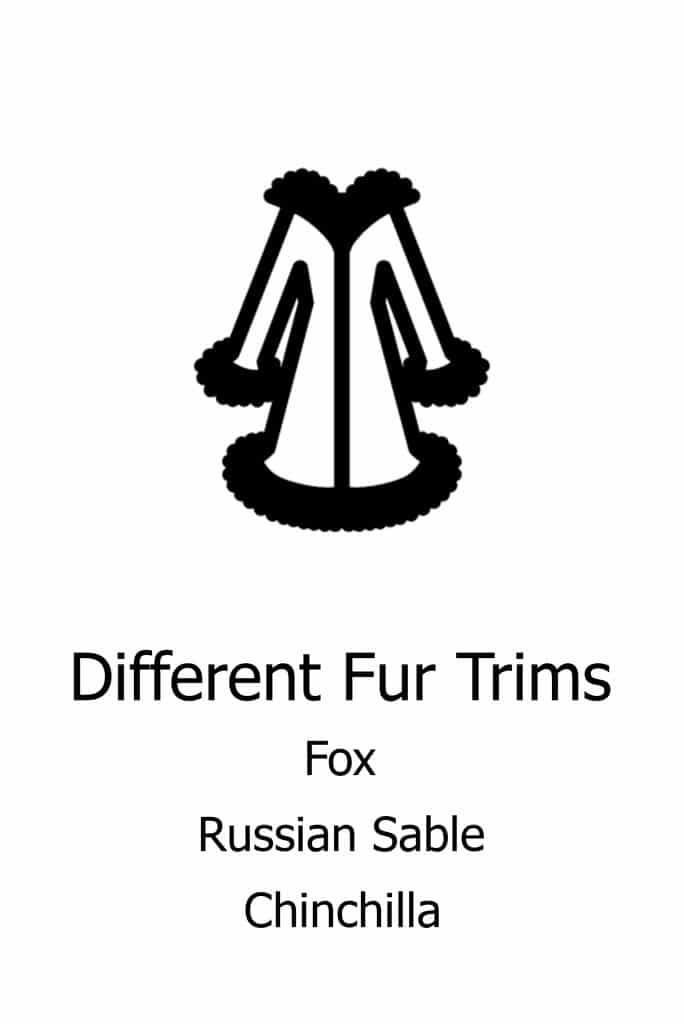 Different fur trims 1801ML